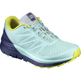 Salomon Sense Pro Max Shoes Dam fair aqua/crown blue/sulphur spring